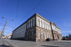 Natural History Museum of Porto University building Stock Photos