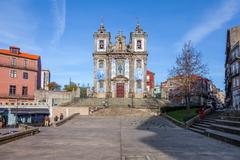 Santo Ildefonso Church. Porto, Portugal Stock Photos