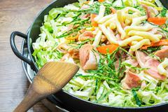 Sukiyaki Korea Food Stock Photos