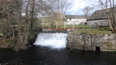 Farm Waterfall Stock Footage