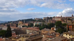 Perugia downtown #3 Stock Footage