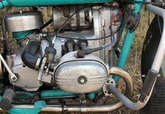 The new engine tractor. Agricultural machinery Stock Photos