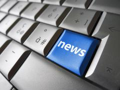 Web Online News Stock Illustration