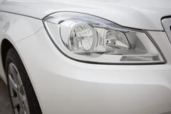 Stock Photo of headlight