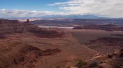 Canyons Dead Horse Point Timelapse 4k Stock Footage