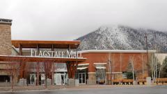 4K Clouds over Flagstaff Mall Stock Footage