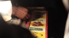 Haitian Roulette Winner Stock Footage