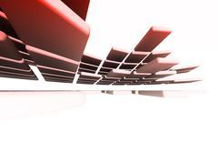 Architectural design - stock photo