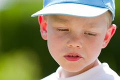 young child portrait - stock photo