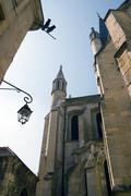 A Church In Dijon City Stock Photos