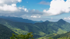 A beautiful view of  Nan province Thailand - stock footage