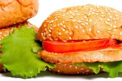 Hamburger Stock Photos