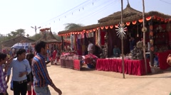 Surajkund Fair/Village fair3 Stock Footage