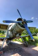 The Antonov An-2 a Soviet mass-produced single-engine biplane Stock Photos