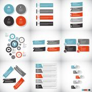 Infographic Templates for Business Vector Illustration Stock Illustration