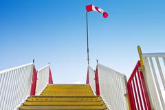 Stairway_windsock Stock Photos