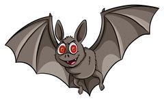 A bat - stock illustration
