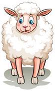 A black sheep Stock Illustration