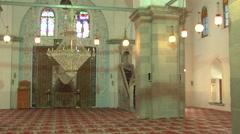 Bergama Ulu Cami ( Mosque ) in Turkey Stock Footage