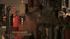 Workshop Tools Stock Footage