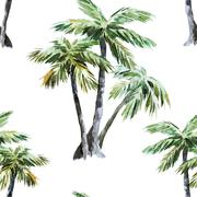 Stock Illustration of Palm pattern