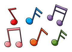 Stock Illustration of Face the music idiom