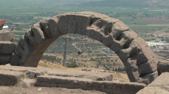 Ancient city of Pergamon, Bergama, Turkey - stock footage