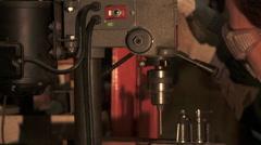 Workshop Drilling Stock Footage