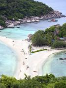 Koh Nang Yuan Island, Thailand - stock photo