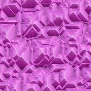 Seamless purple granite stone blocks texture Stock Illustration