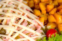 Fast Food Restaurants - stock photo
