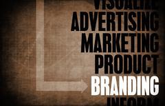 Branding Stock Illustration