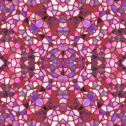 Beautiful seamless color kaleidoscope - stock illustration