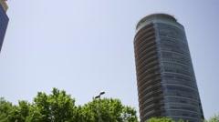 Skyscraper in Istanbul, Turkey Stock Footage