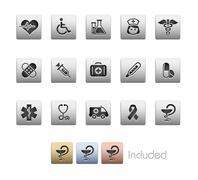 Medicine & Health Care // Metallic Series Piirros