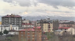 Kars City in Turkey Stock Footage