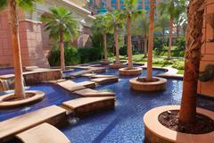 View Atlantis Hotel  in Dubai, UAE - stock photo