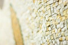 Mosaic and Image Technique . Sample depth of field Stock Photos
