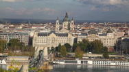 Stock Video Footage of St. Stephen (St. Istvan) Basilica in Budapest, Hungary