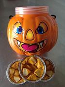 Apple crumb pie and pumpkin pie - stock photo