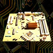 Motherboard - stock illustration