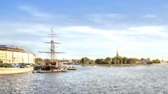 Saint Petersburg. Cityscape Stock Footage