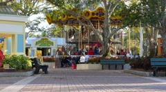 Merry Go Round Legoland Florida Stock Footage