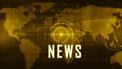 News generic background YELLOW Stock Footage