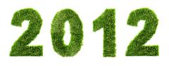 New year  - ecology concept - stock photo