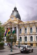 Stock Photo of Legislative Palace in La Paz, Bolivia