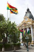 Legislative Palace in La Paz, Bolivia Stock Photos