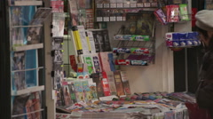 Newspapers Future Debated Bucharest Romania Stock Footage