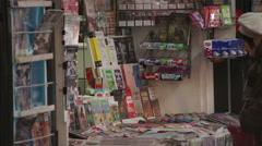 Newspapers Future Debated Bucharest Romania Stock Footage