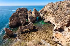 Ponta da Piedade - stock photo
